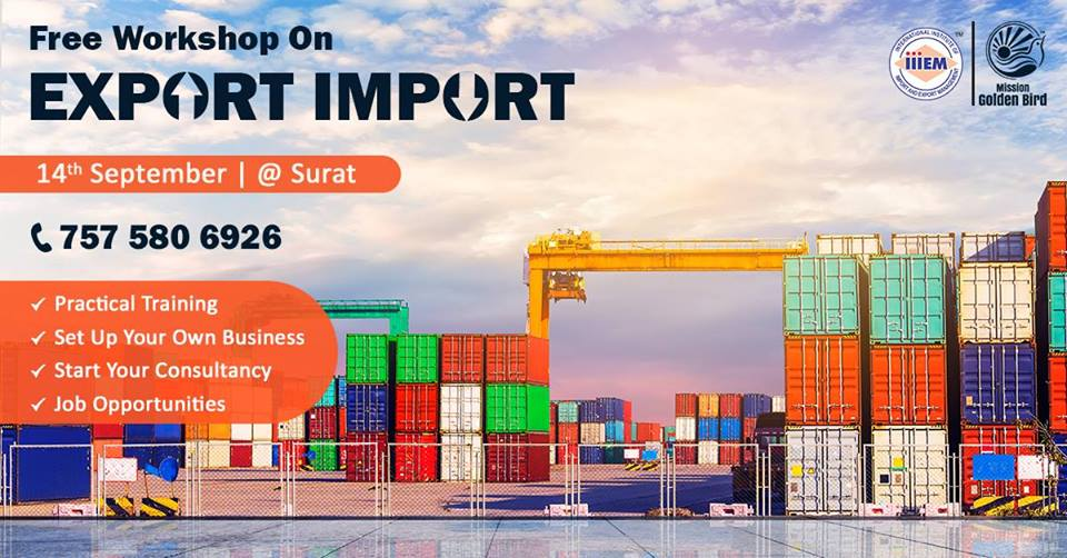Import and Export Business At Surat