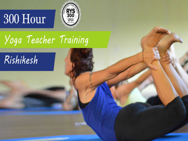 300 Hour Yoga Teacher Training in Rishikesh - RYS 300