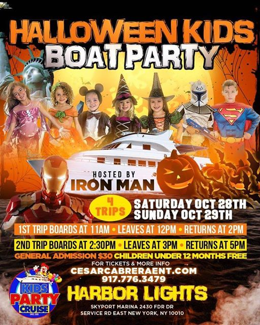 Kids Party Cruise Halloween Costume Party