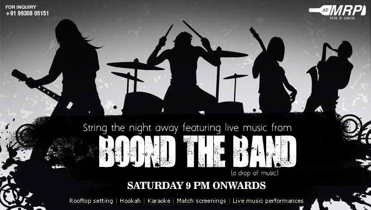 Featuring Live Music From Boond The Band