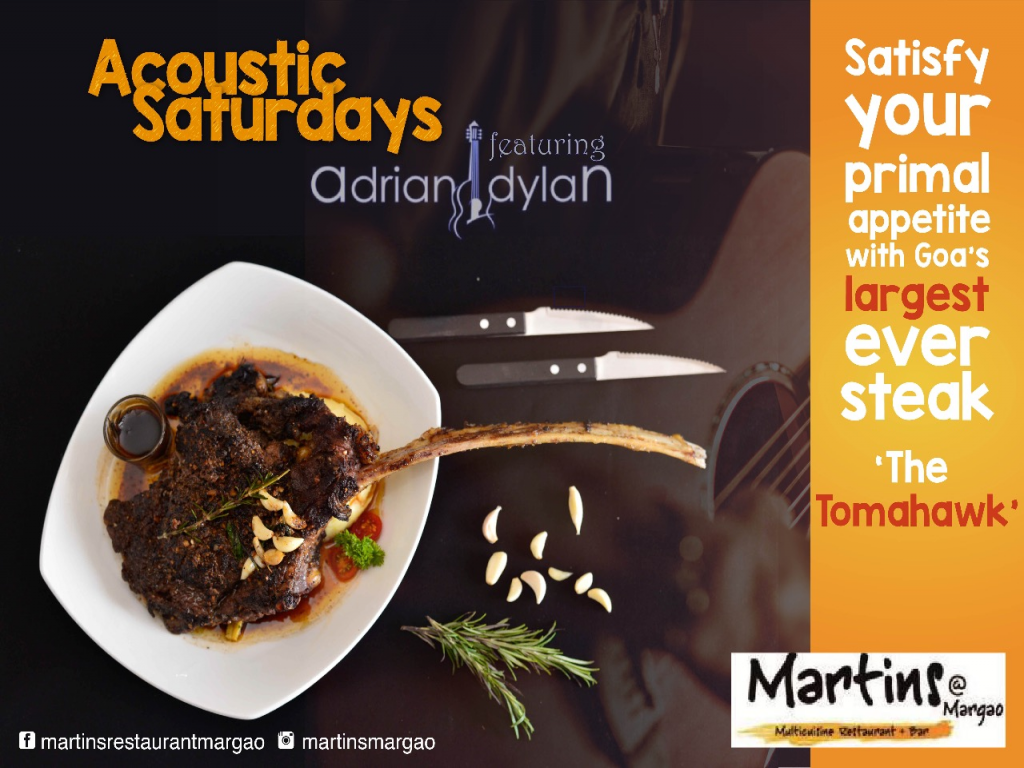 Acoustic Saturdays at Martin's Resturant