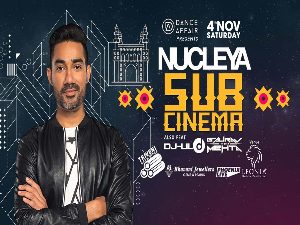 Nucleya Live in Hyderabad   November 4th