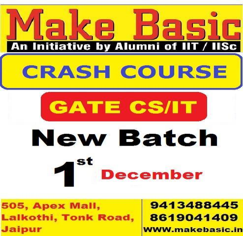 Crash Course GATE 2018