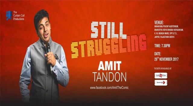 Still Struggling by Amit Tandon in Jaipur