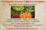 GO Organic: Farmer's Market Goregaon