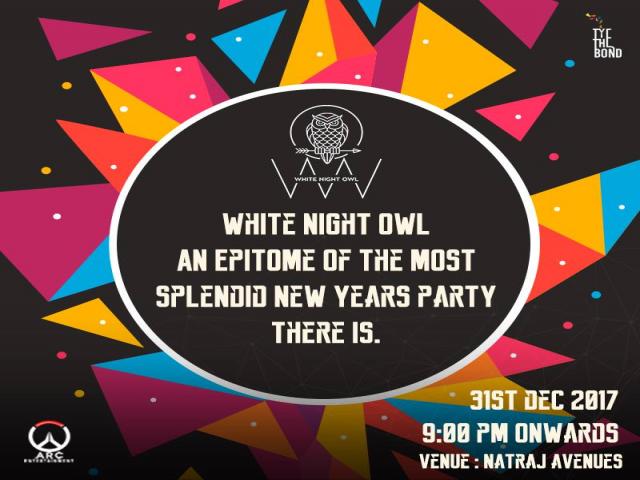 White Night Owl - New Year's Eve 2018
