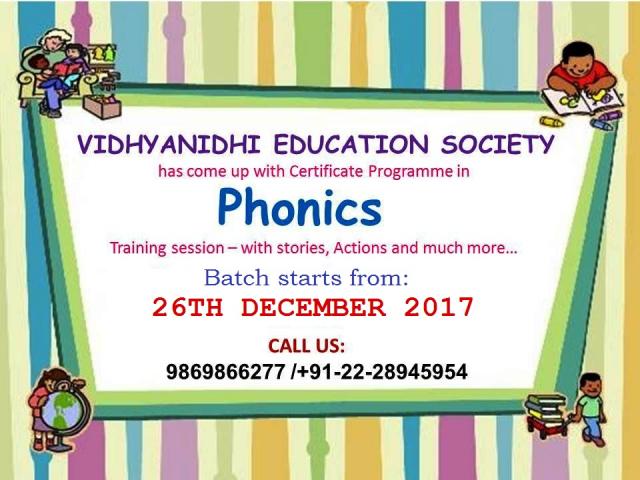 Phonics Teacher's Training Programme