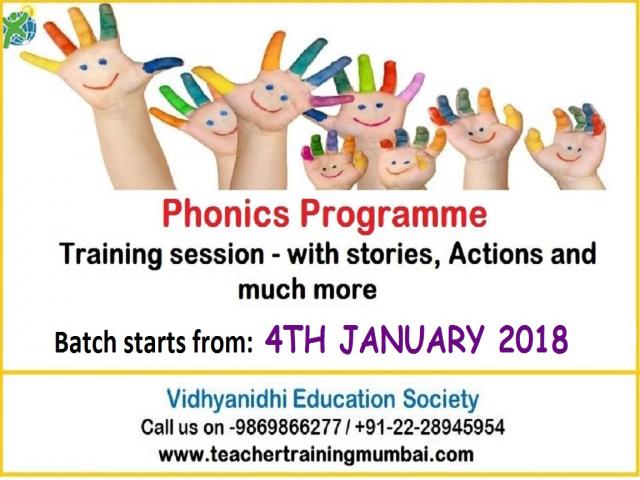 Phonics Teacher Training Program