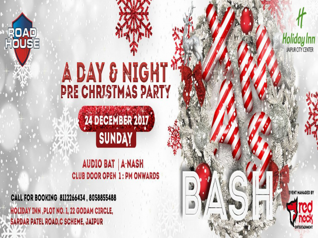 Xmas Bash: Club Road House 24th Dec