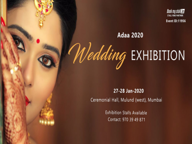 Adaa 2020-Wedding Exhibition at Mumbai - BookMyStall