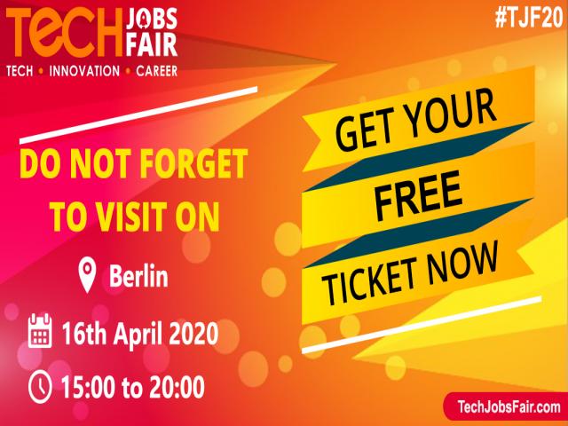 Tech Jobs Fair 2020 - Berlin