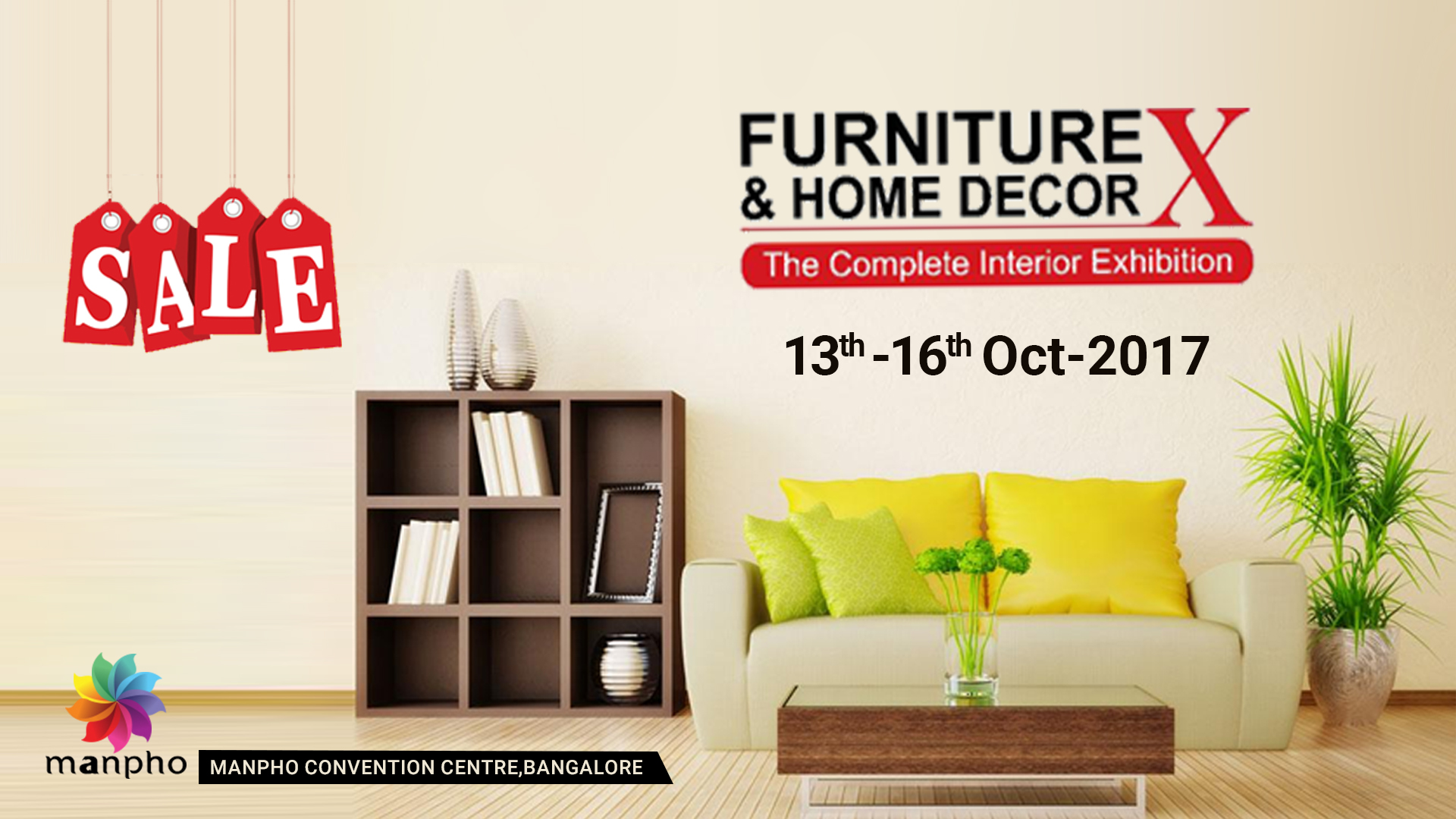 Furniute Event and Home Decor Exhibition from 13th Oct at Bangaore