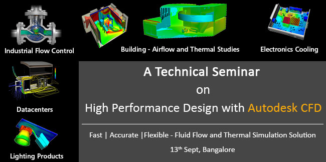 Technical Seminar On High Performance Design with Autodesk CFD