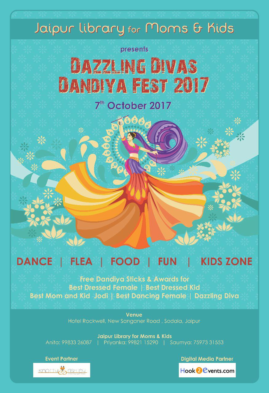 Dazzling Divas Dandiya Fest 2017 (Dandiya for Ladies)