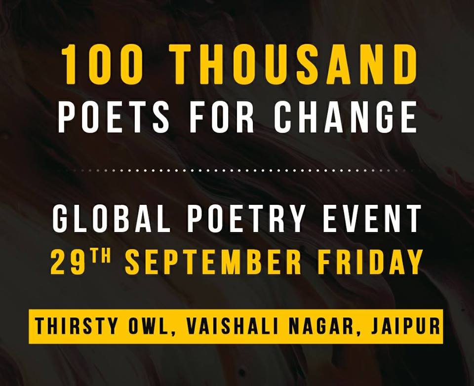 100 TPC Global Open Mic Poetry (Jaipur Chapter)