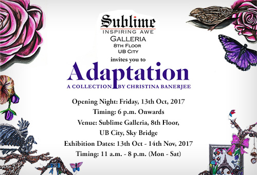 Adaptation, a Showcase by Artist Christina Banerjee