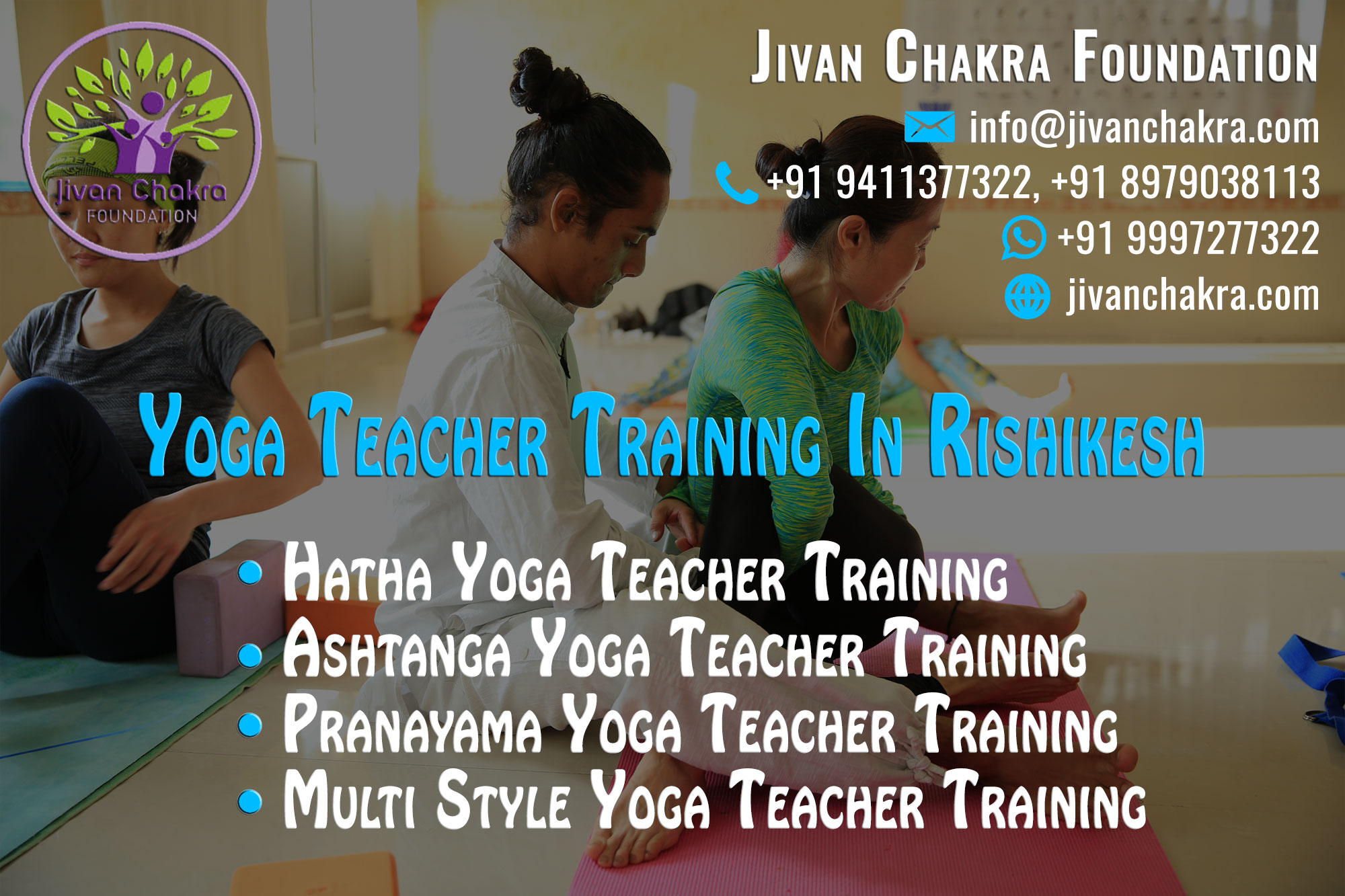200 Hour Yoga Teacher Training Rishikesh India