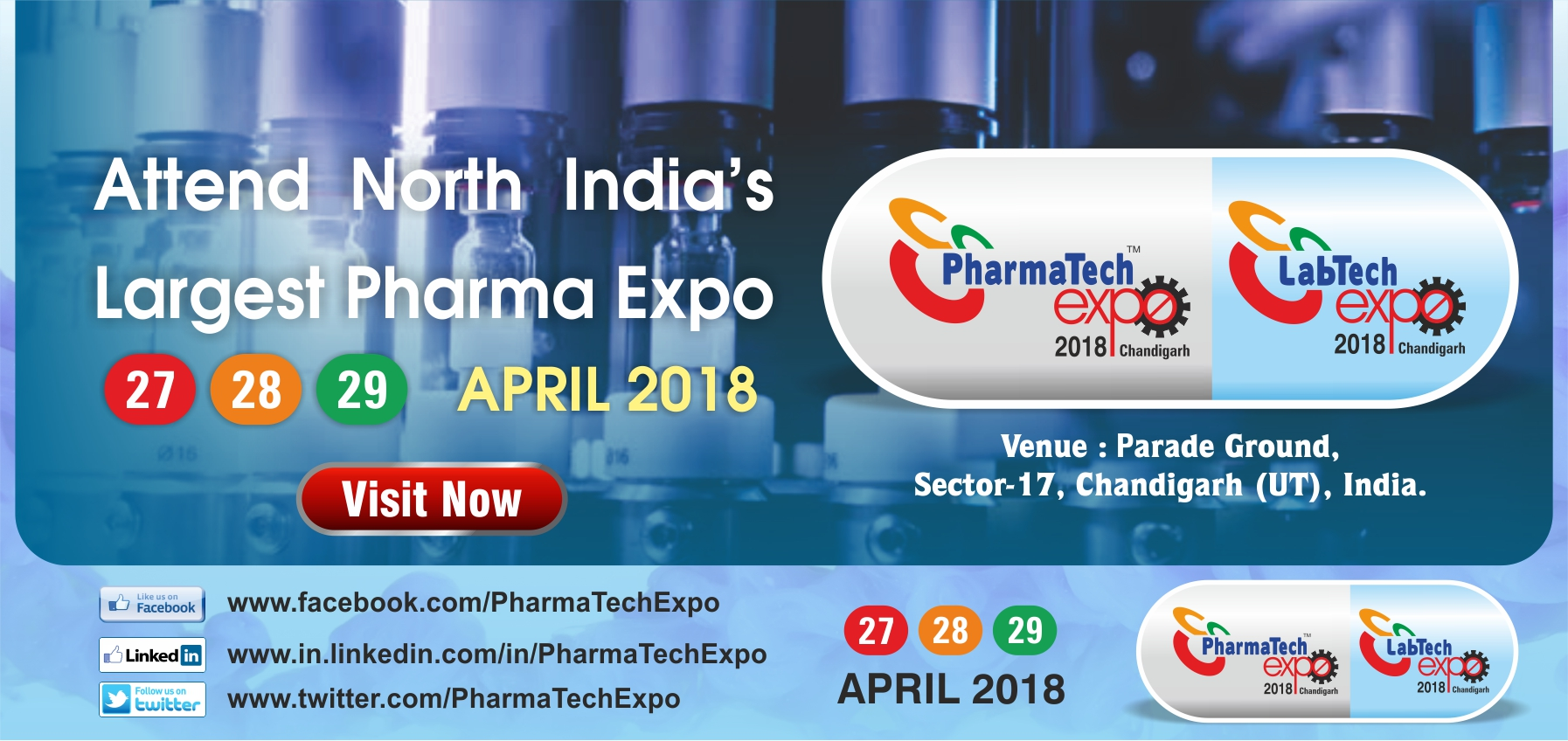 North India's Largest Pharma Expo