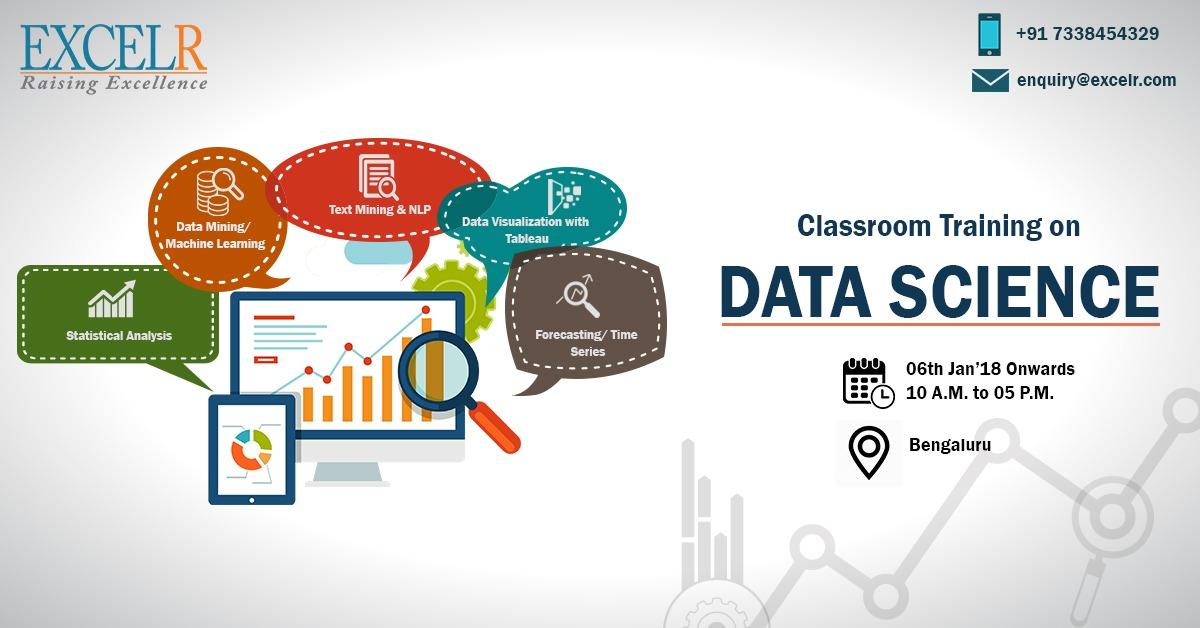 Data Science Classroom Training at Bengaluru