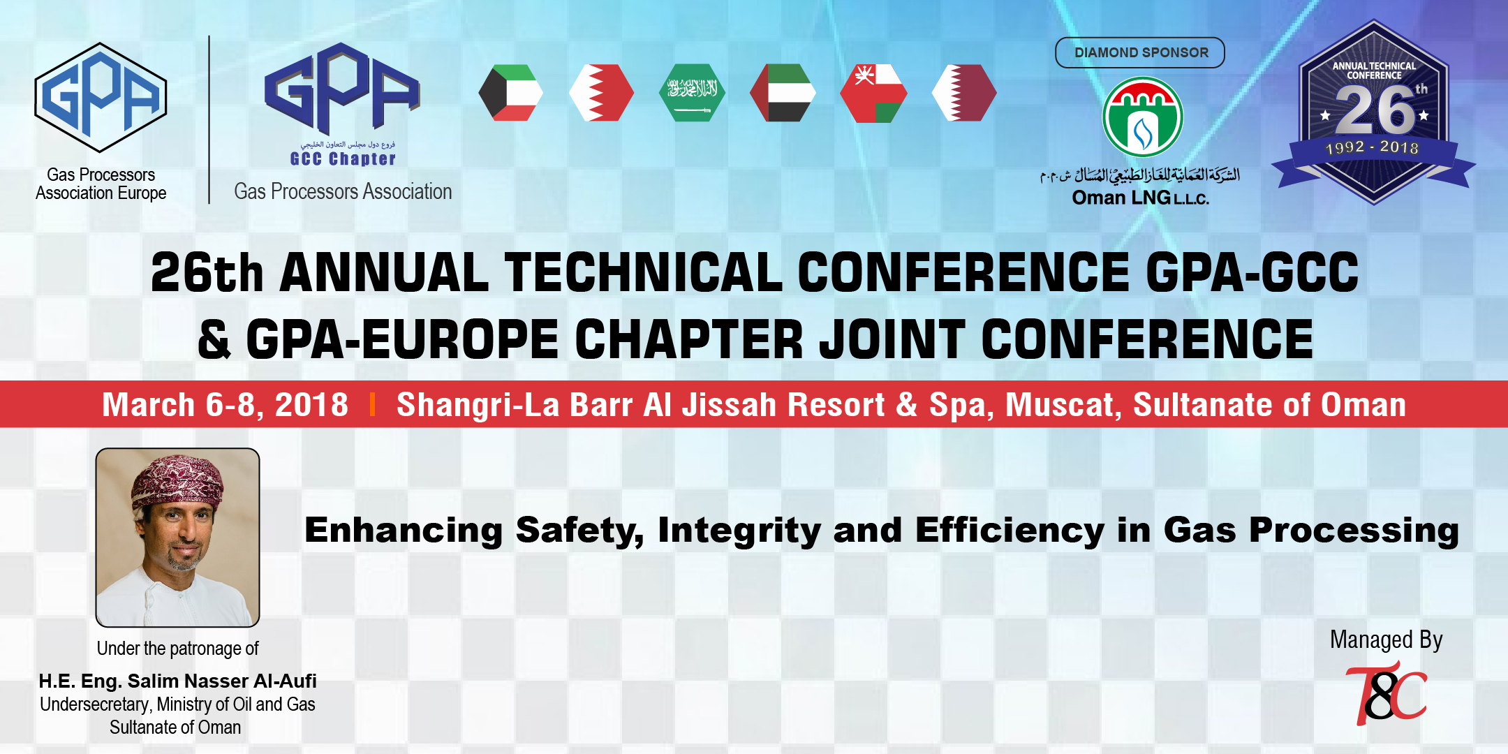 26th Annual GPA-GCC & GPA-Europe Chapter Joint Technical Conference 2018