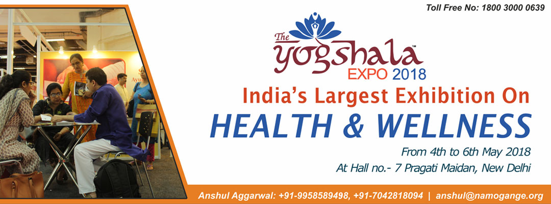 The Yogshala Expo 2018- A Health & Wellness Exhibition