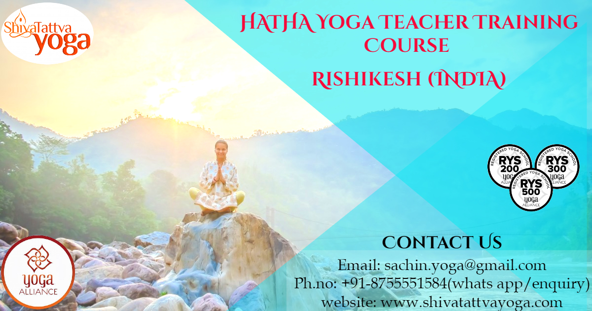 100 Hours Vinyasa Yoga Teacher Training Course in Rishikesh, India