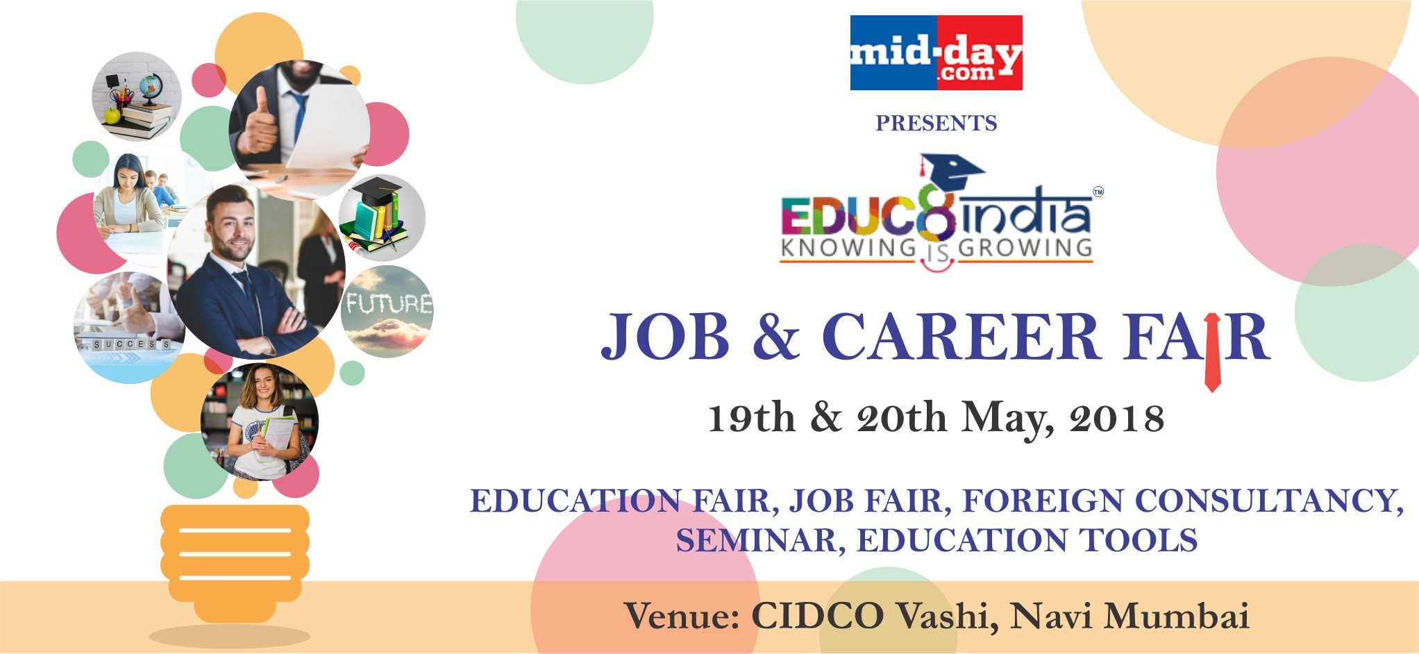 Job Fair & Career Expo at Mumbai on 19th & 20th of May 2018 Educ8 India