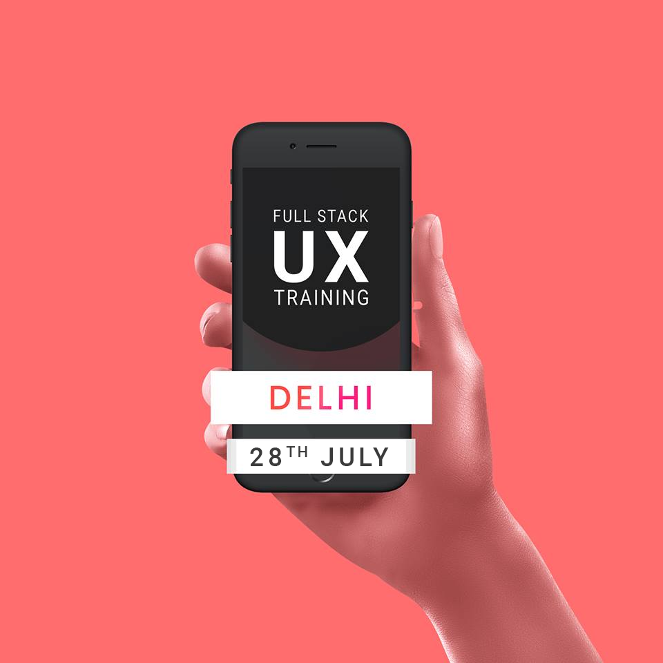 Full Stack UX Design Training in Delhi