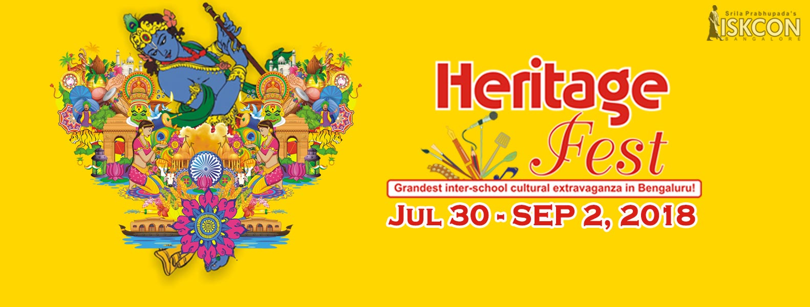 Heritage Fest 2018 - Cultural Contest by ISKCON Bangalore
