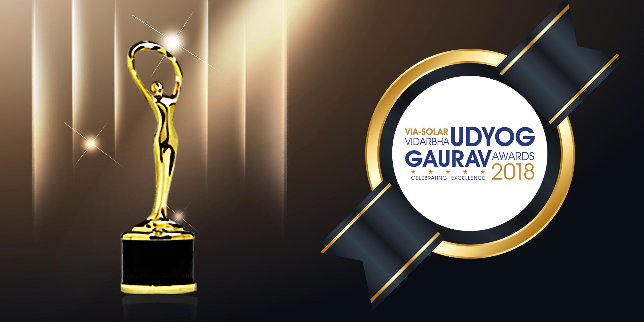 VIA-Solar Vidarbha Udyog Gaurav Awards 2018