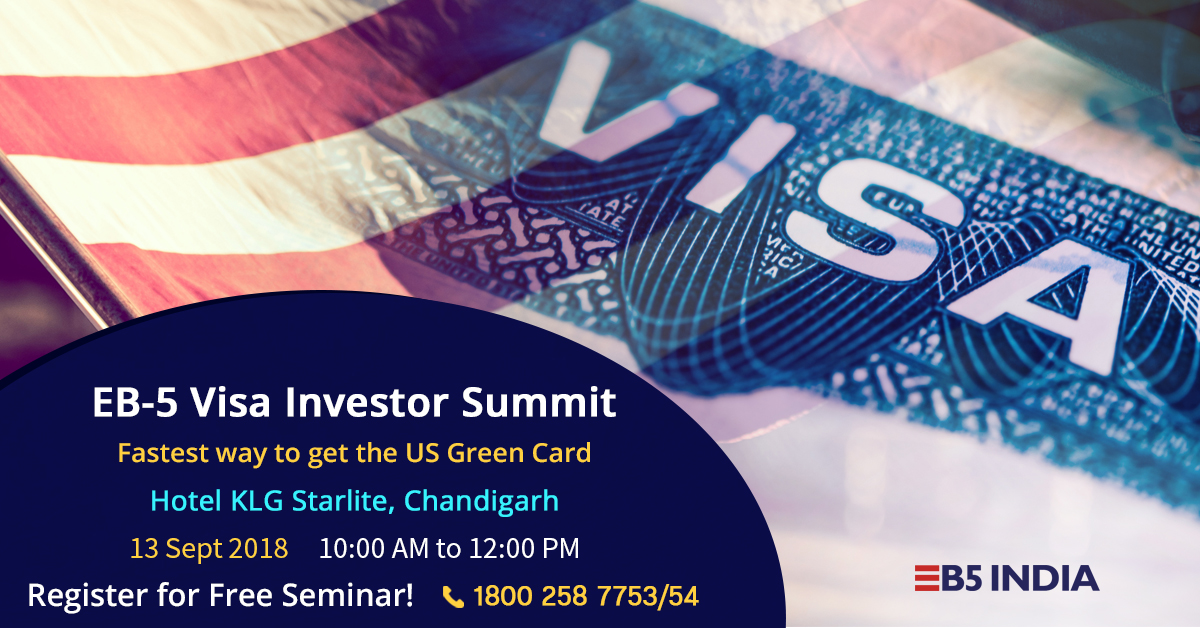 EB5 Free Seminar in Chandigarh