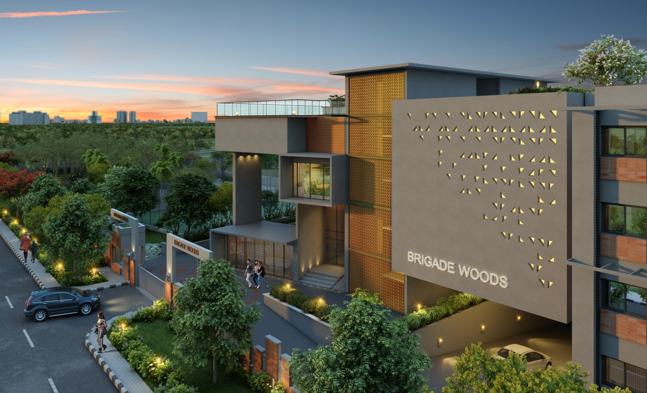 Brigade Woods Best Properties Residential in Bangalore