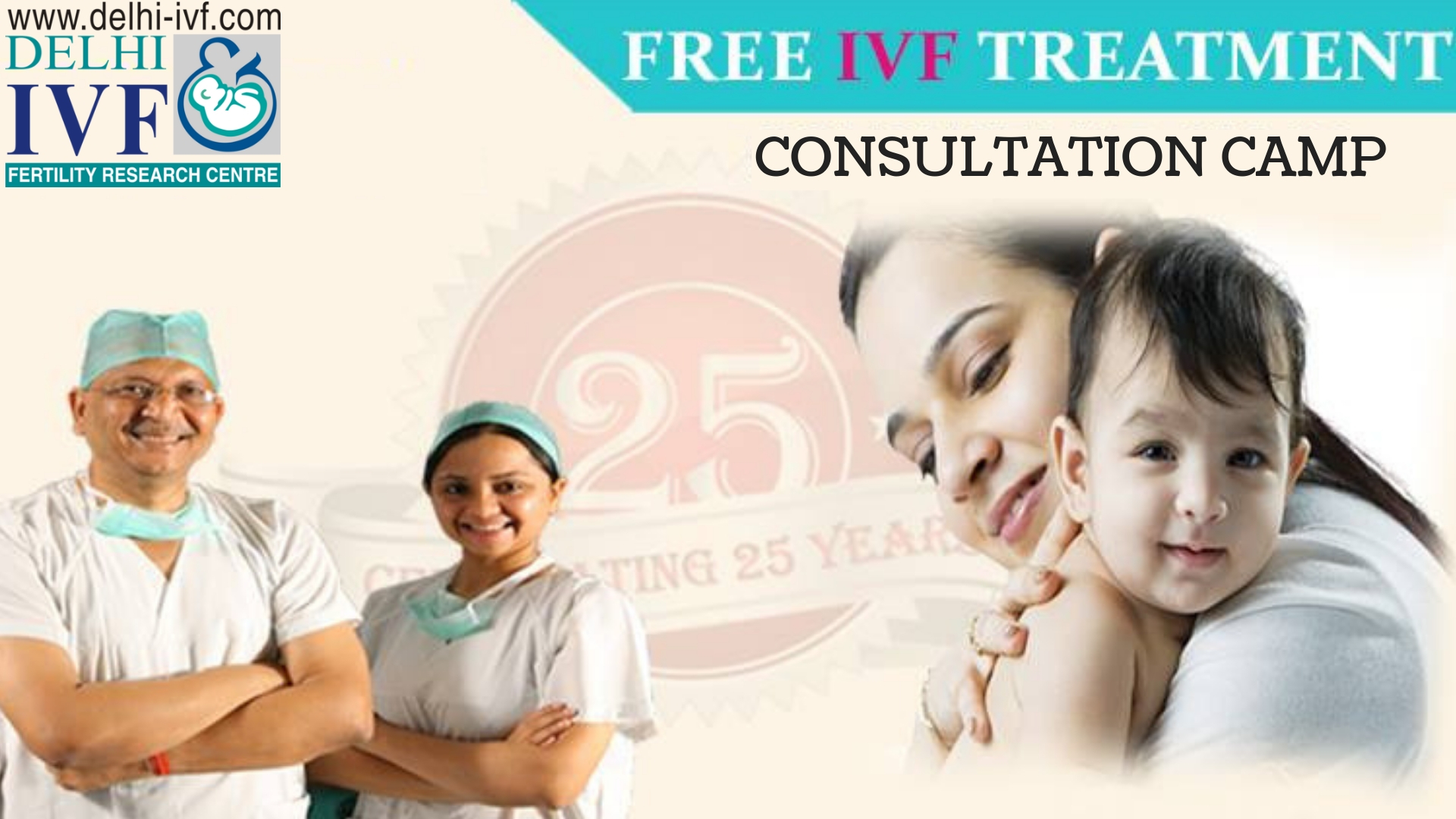 Free IVF Treatment Consultation Camp in Delhi