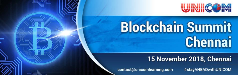 Blockchain Summit 2018,Chennai