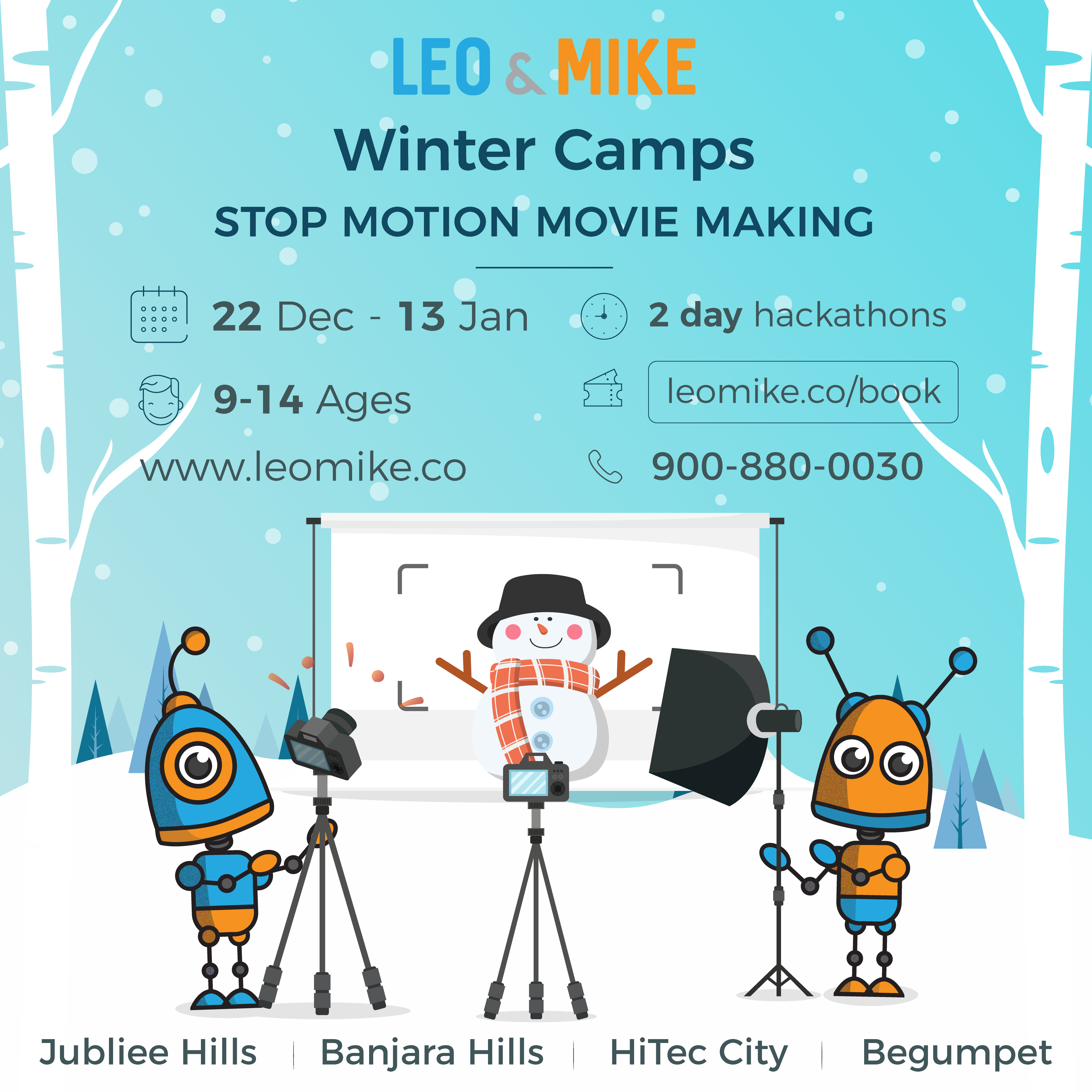 Stop motion movie making for 9-14 years old @ Collab House