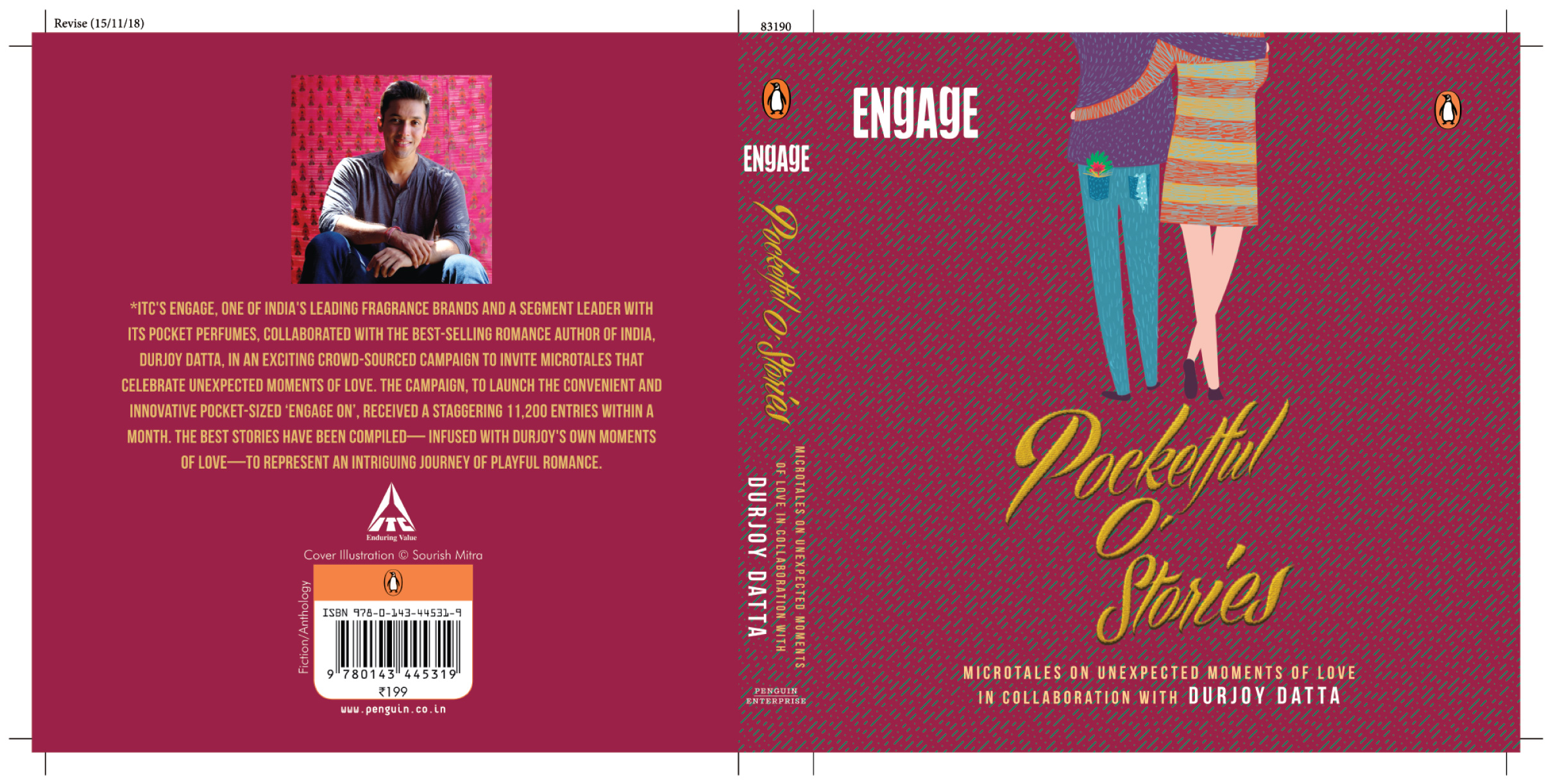 Book Launch - Pocketful of Stories by Durjoy Datta