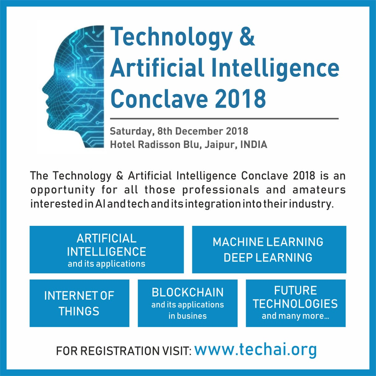 The Technology and Artificial Intelligence conclave 2018