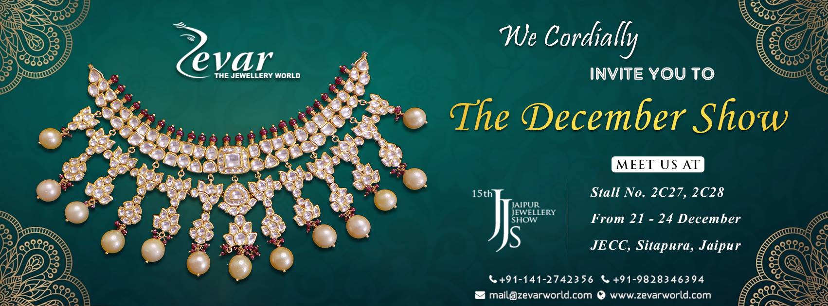 Jaipur Jewellery Show - Zevar The Jewellery World