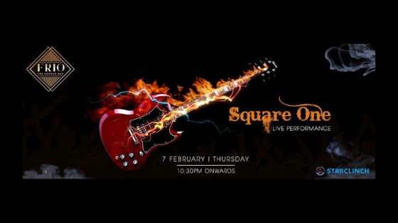 Square One Band - Performing LIVE at Frio The Garden Bar