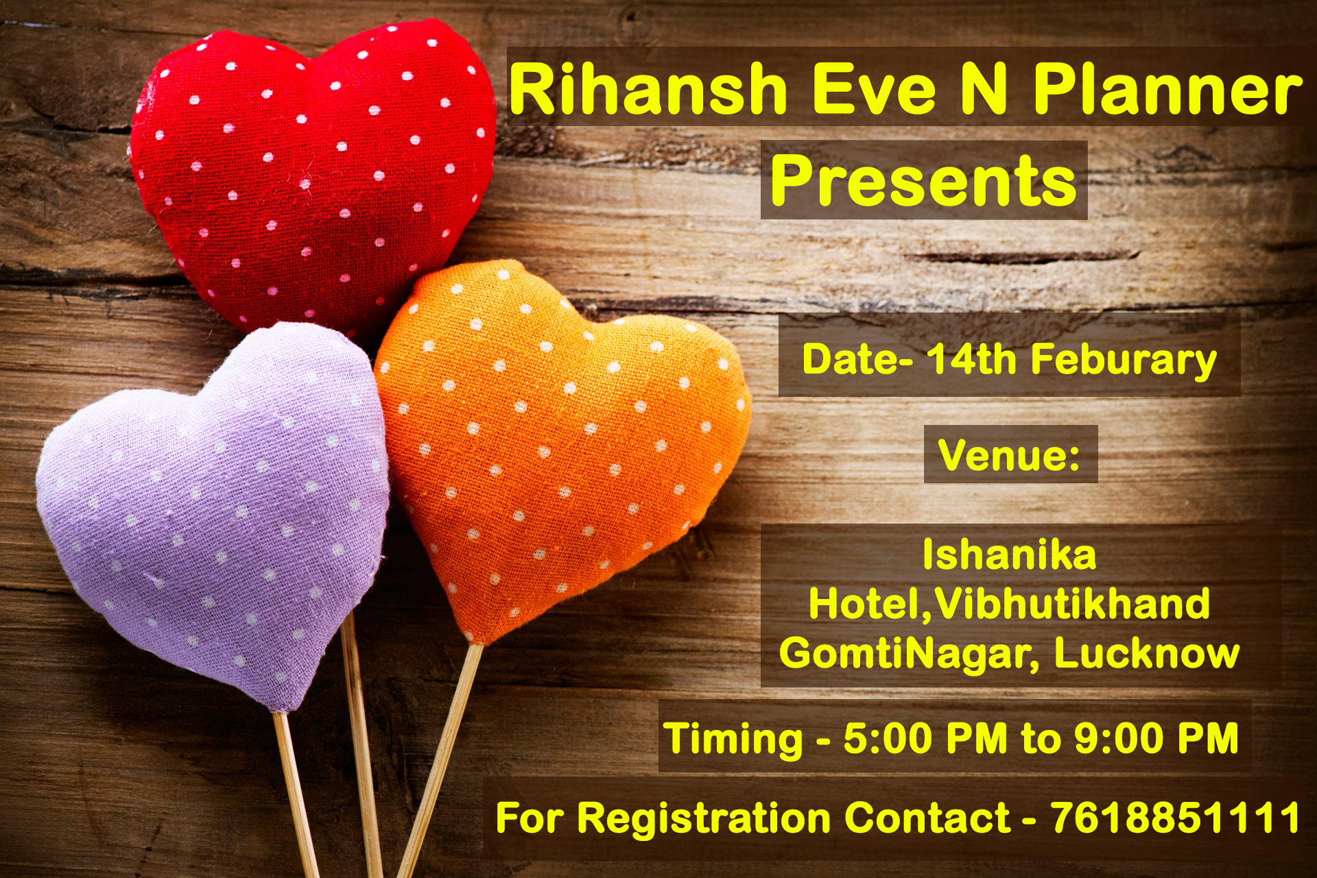 Upcoming Events in Lucknow - Valentines Day Special