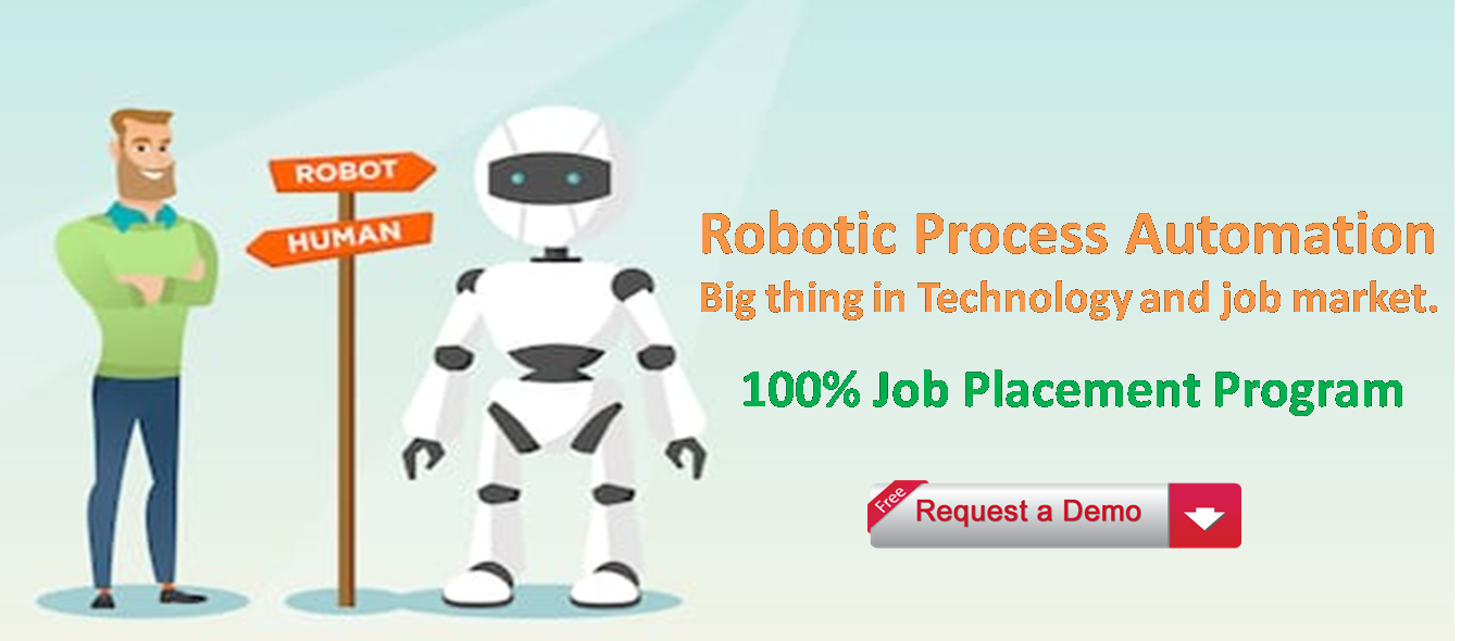 Robotic Process Automation Training for Fresher and Experienced with Job Placeme