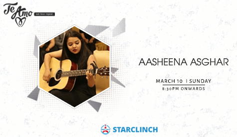 Aasheena Asghar - Performing LIVE At Te Amo, Ansal Plaza
