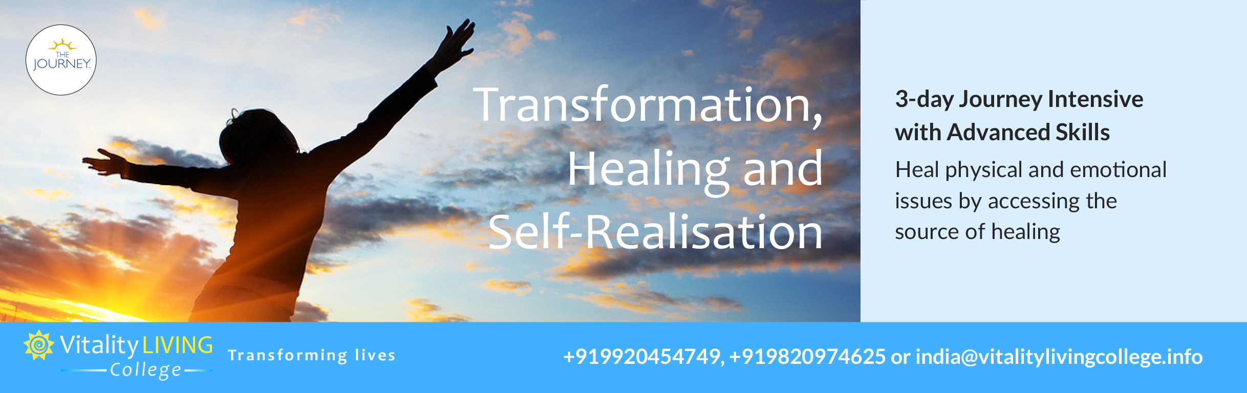 The Journey Healing Seminar Bangalore 2019