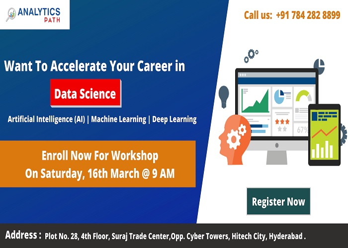 Enroll For Free Workshop Session On Data Science Training
