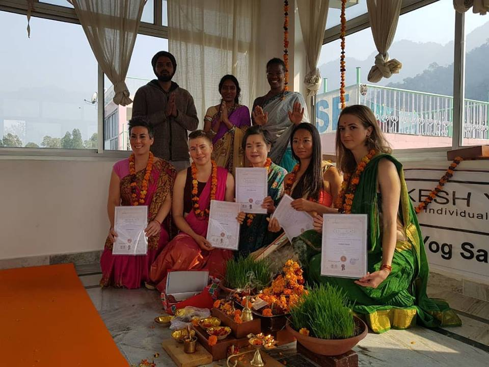 300 Hour Yoga Teacher Training Course In Rishikesh