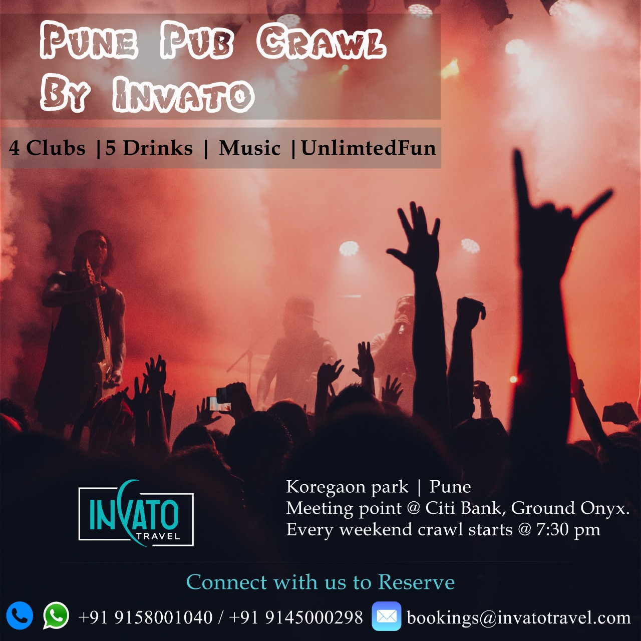Pune Pub Crawl by Invato