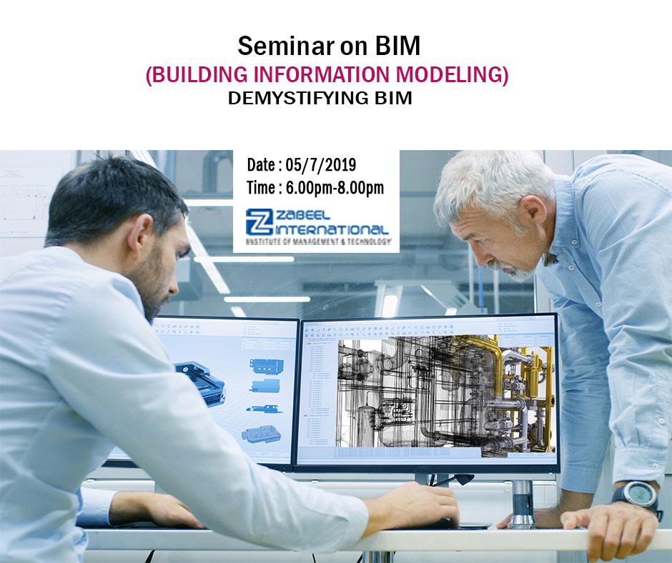 Building Information Modeling (BIM)-Free Seminar