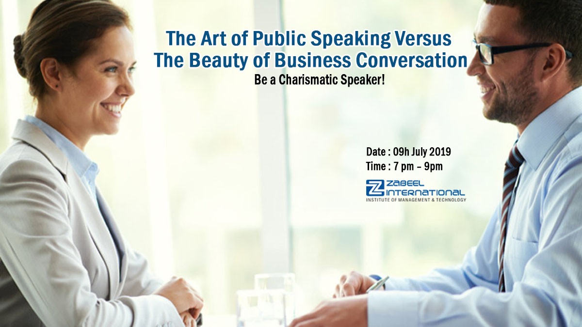 Free Seminar on Business Conversation