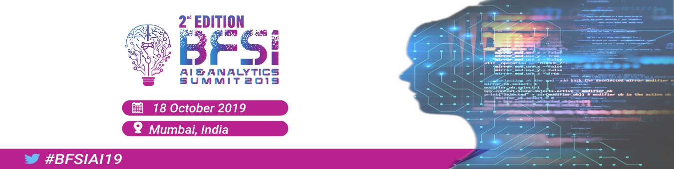 2nd Edition Futuristic BFSI AI & Analytics Summit