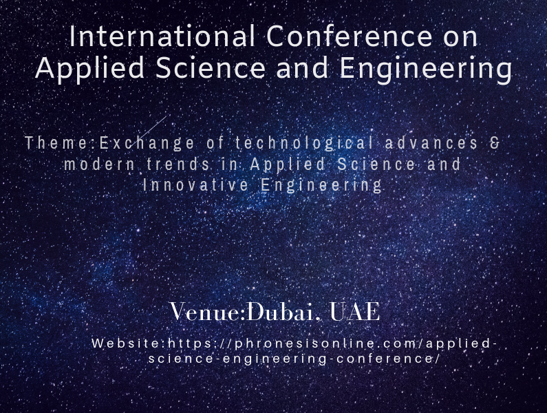 International Conference on Applied Science and Engineering
